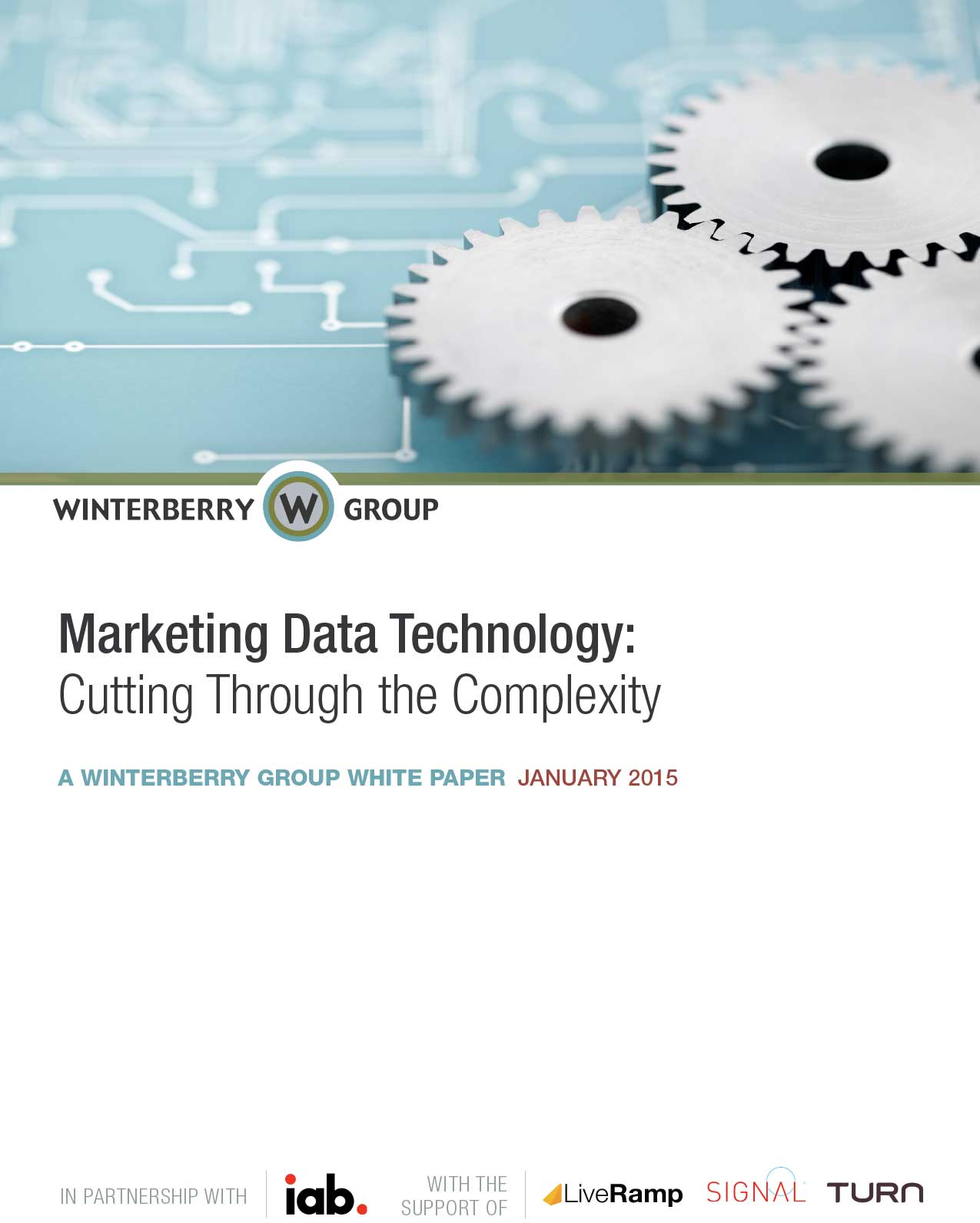 Marketing Data Technology: Cutting Through the Complexity Cover