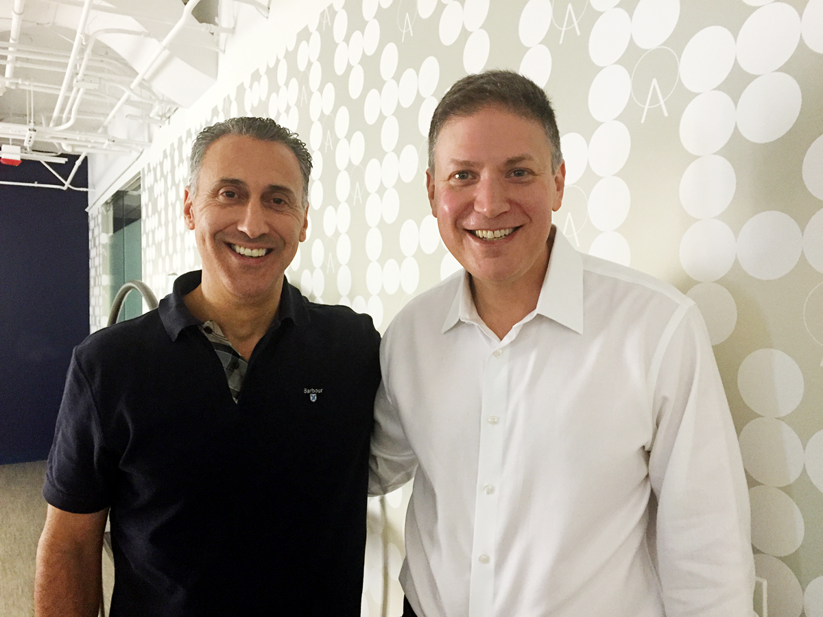 Signal CRO Marc Kiven and CEO Mike Sands