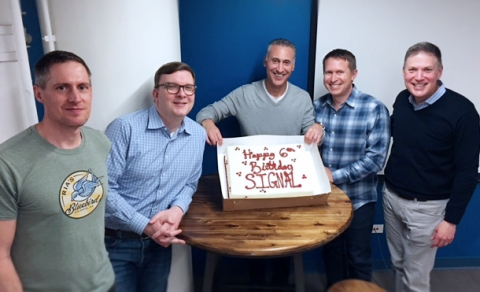 Signal Turns Six