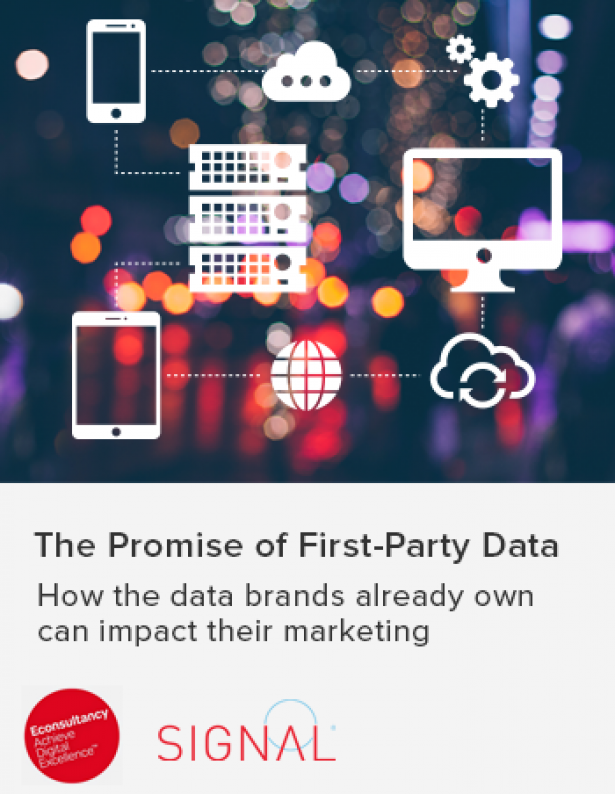 econsultancy first party data research report