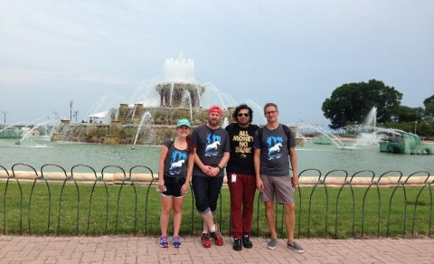 Scavenger Hunt Provides Fun in the Sun for Signal's Chicago Team