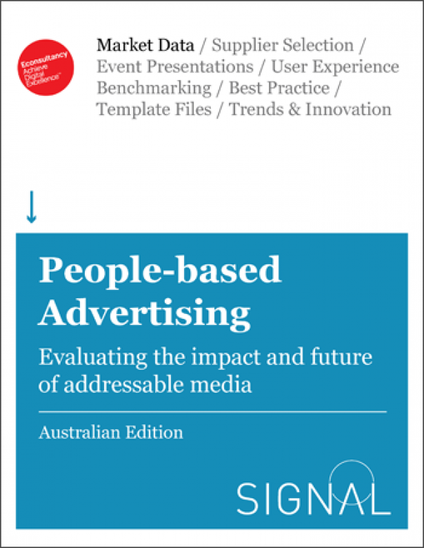 People-based Advertising in Australia: Evaluating the Impact and Futer of Addressable Media